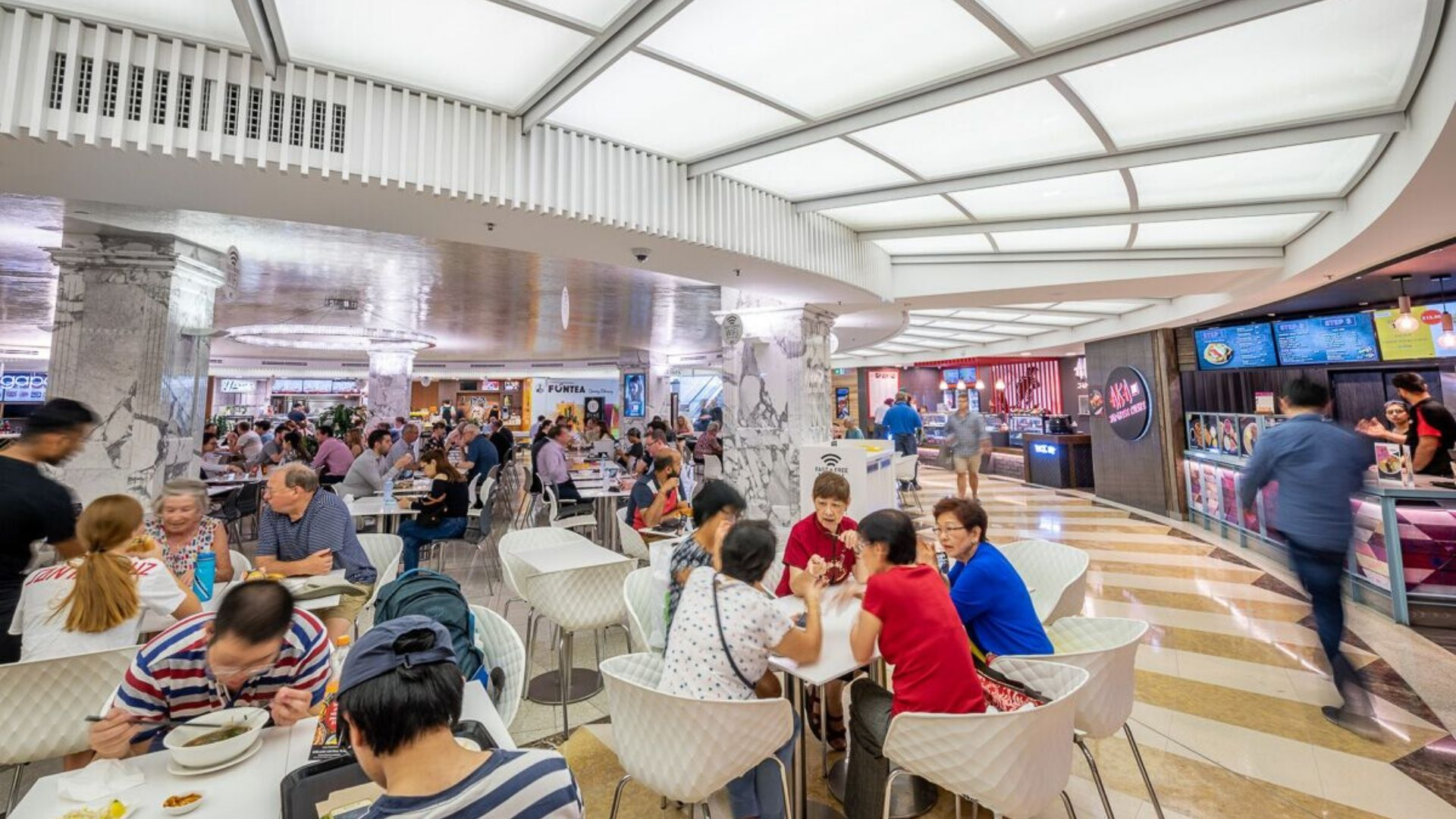 Adelaide Central Plaza - Food Court