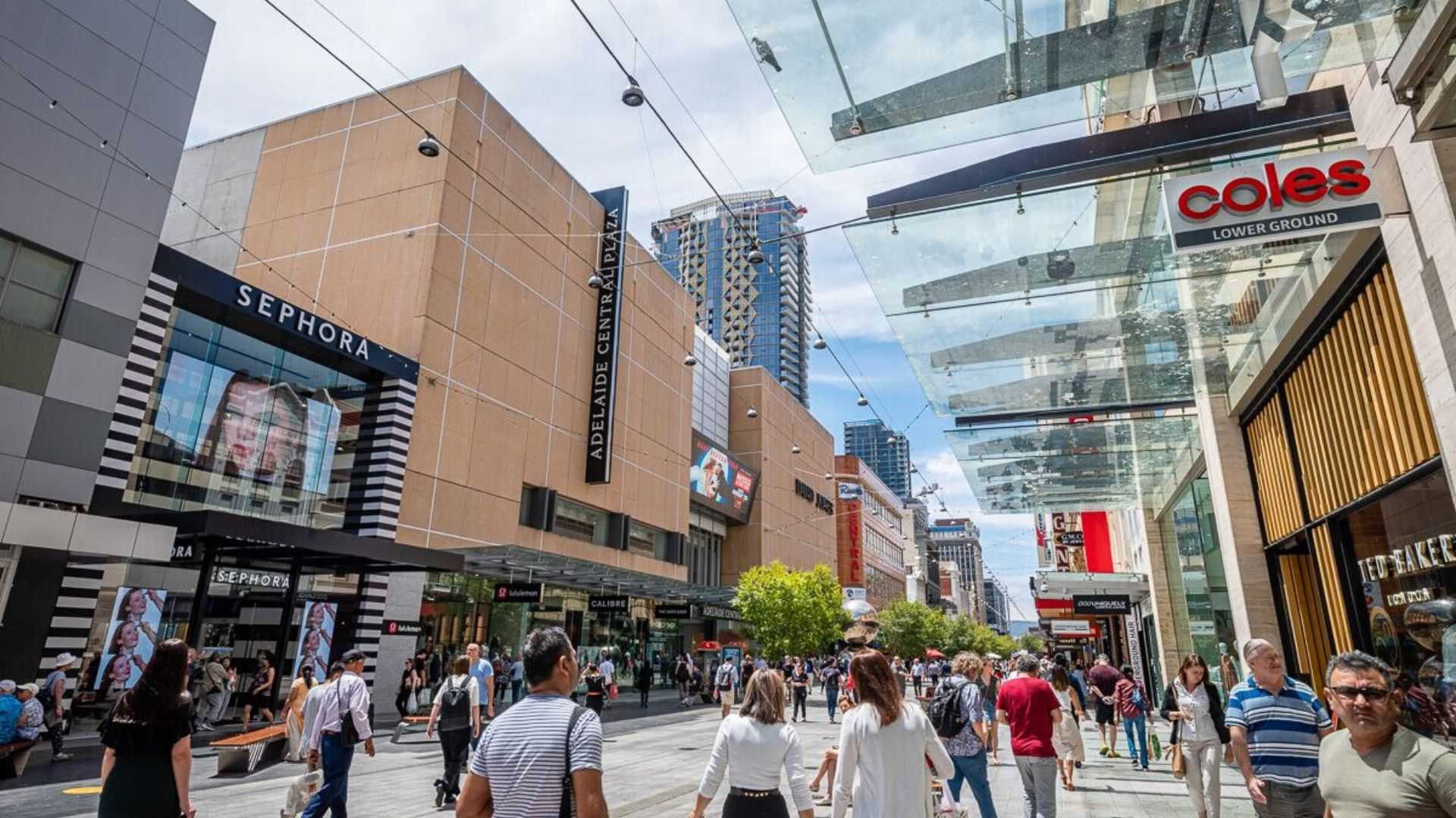 Adelaide Central Plaza - Rundle Mall