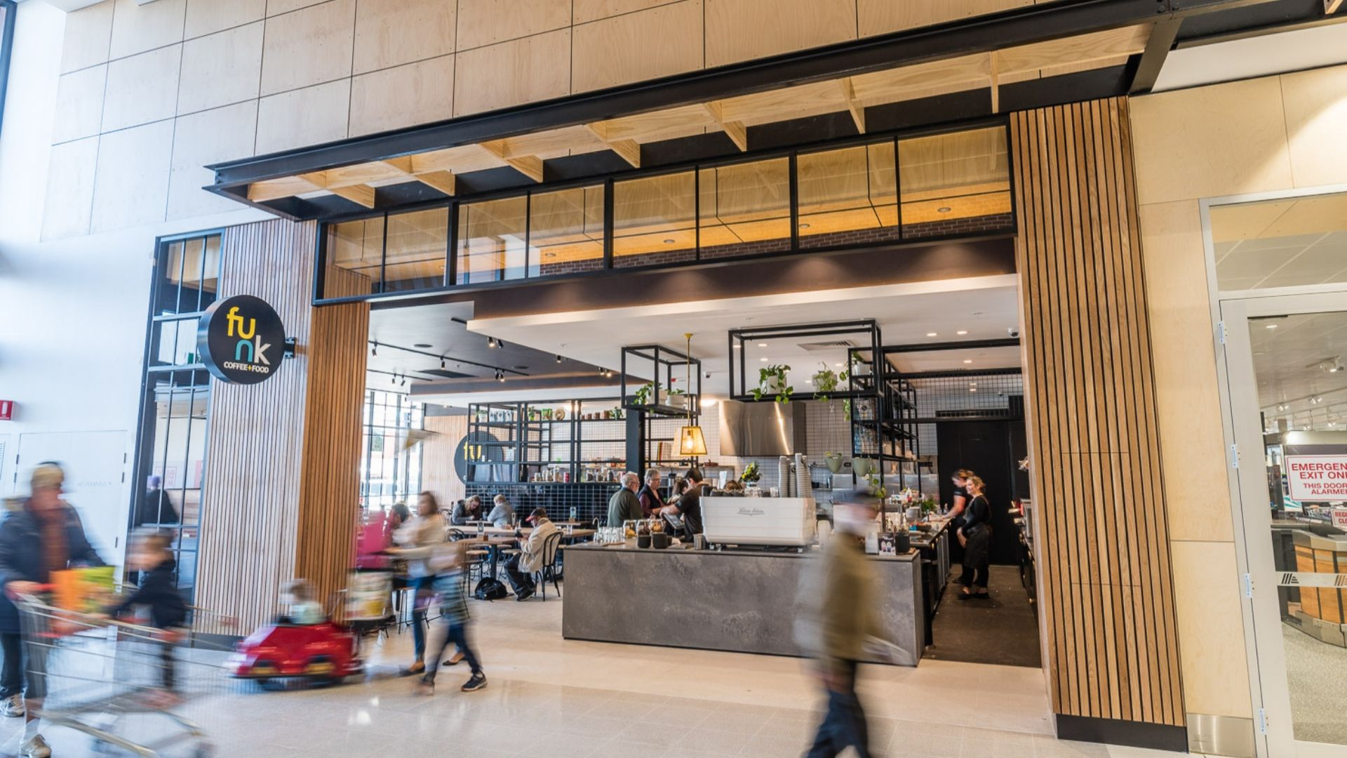 Port Adelaide Plaza - Retailer - Funk Coffee and Food