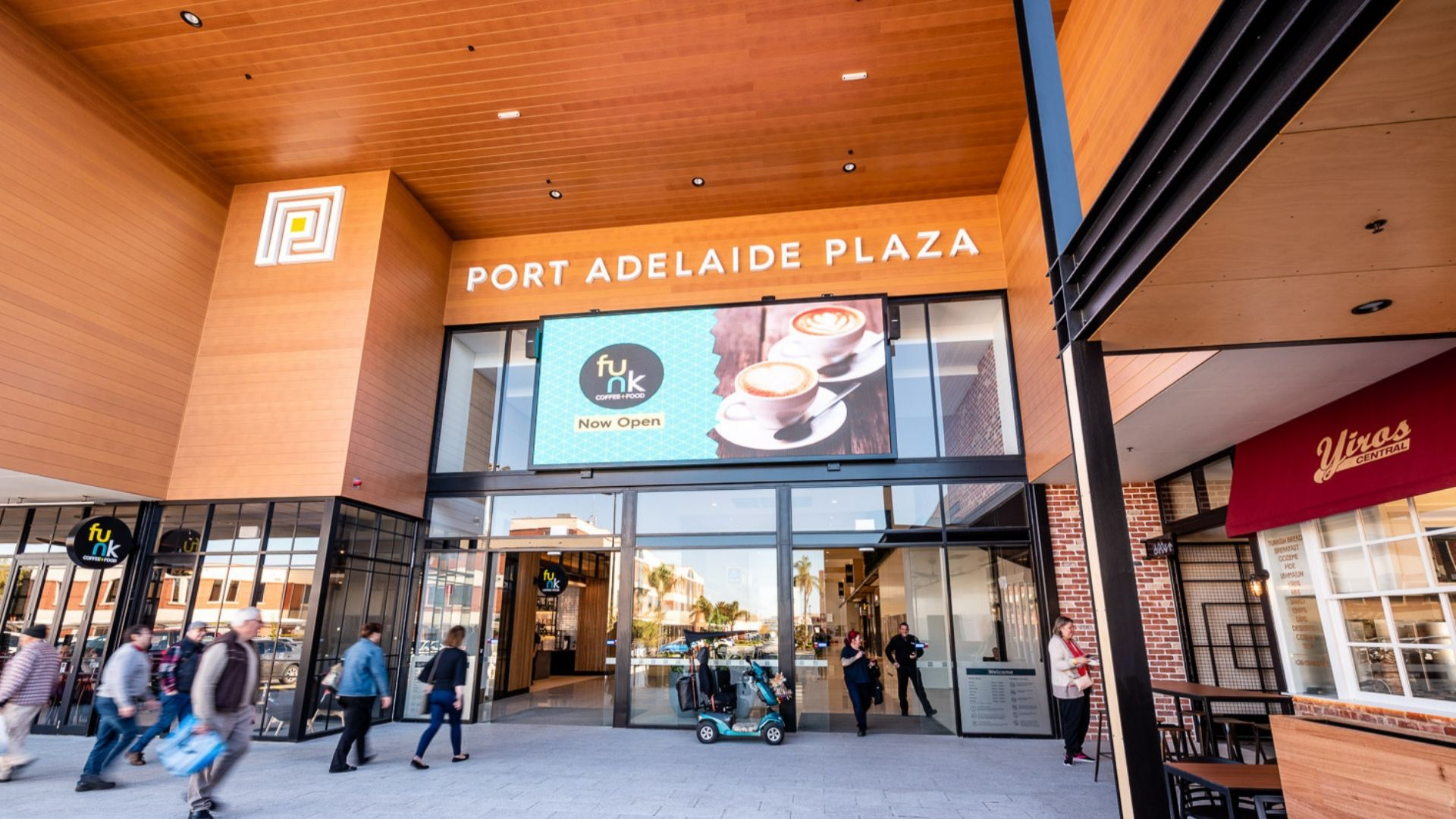 Port Adelaide Plaza - Entry