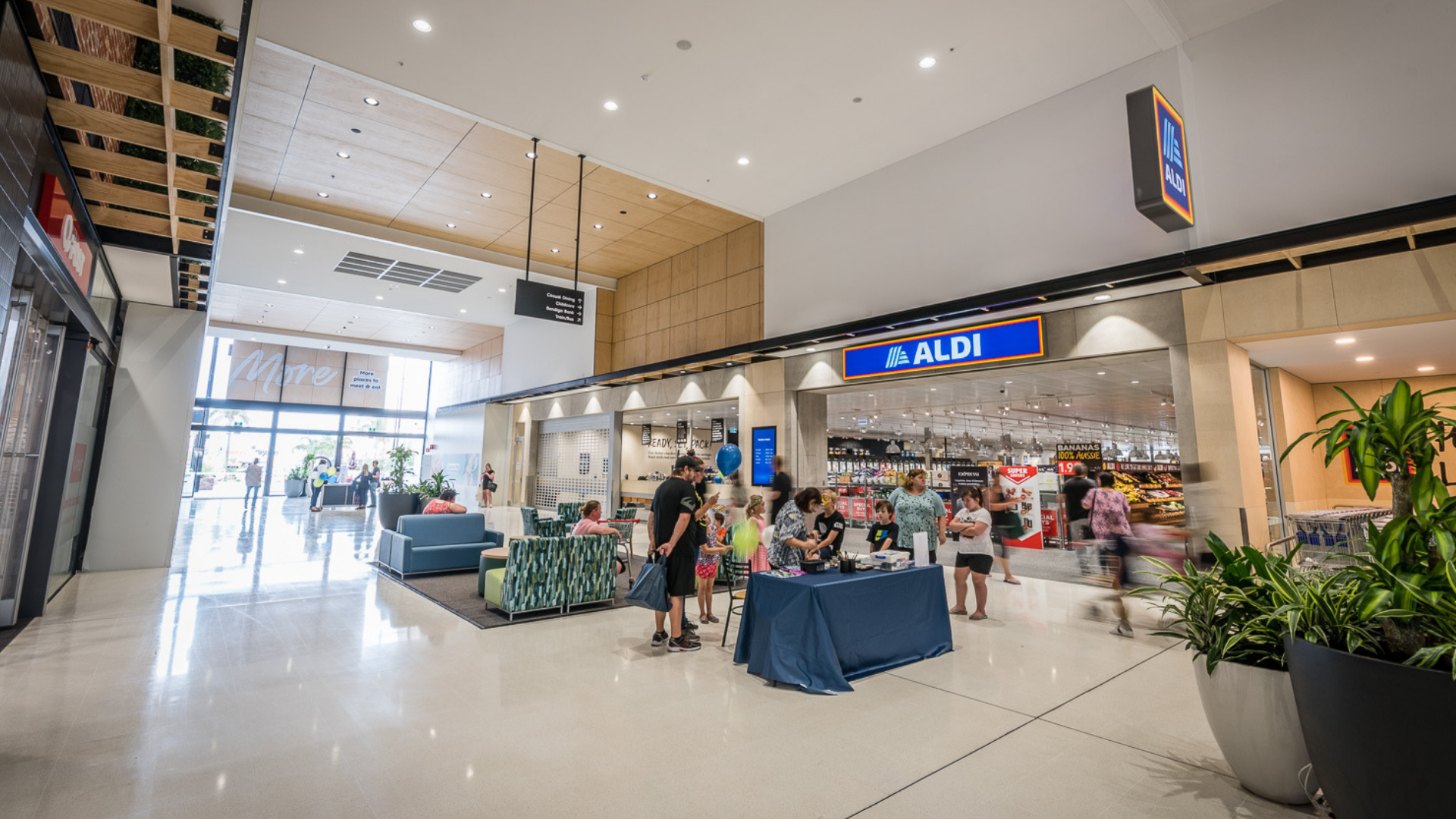 Port Adelaide Plaza Interior ALDI - 02